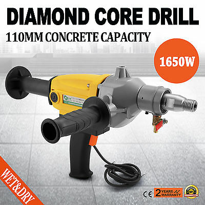 Diamond Core Drill Two Speed Wet & Dry Cutting 80mm Capacity Stable Top  NEWEST