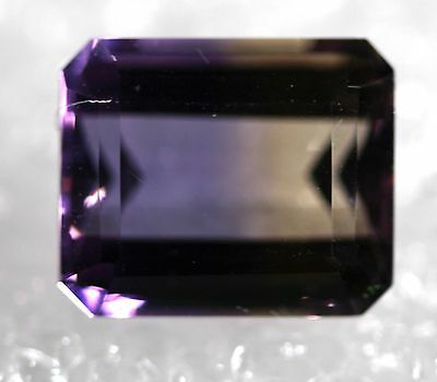 Genuine Natural Ametrine Emeral Shape Faceted AM-63