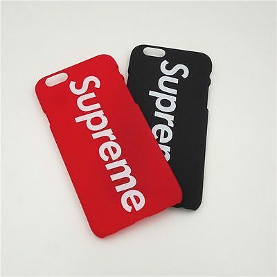 huge selection of ce378 a7200 CUSTOM SUPREME BOX Logo iPhone 6, 6s, 7, 8 Plus X Phone Case ~ US SELLER
