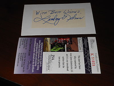 NY Mets Announcer Lindsey Nelson (d.95) Signed Mounted Cut Autograph JSA COA