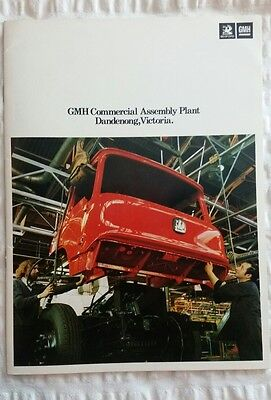 Brochure for GMH Commercial Assembly Plant at Dandenong for Bedford / Holden