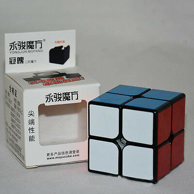 2x2 YONGJUN Speed Cube Classic 2 Layer Magic Cube Smooth Puzzle Twist Game Toys