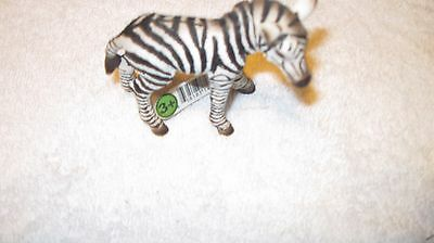 Schleich  Zebra Foal Wild Animal Baby Model Toy Figurine