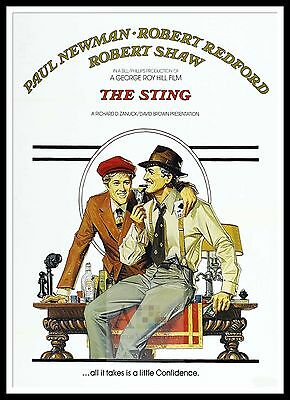 The Sting 7 Poster Greatest Movies Classic & Vintage Films
