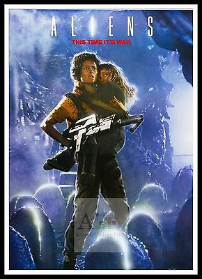 Aliens 7  Poster Greatest Movies Classic & Vintage Films