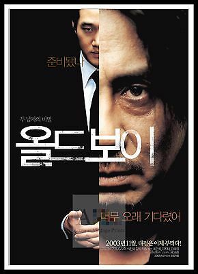 Oldboy 4   Poster Greatest Movies Classic & Vintage Films