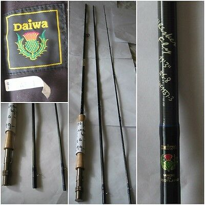 *NEW* 3 Piece Scottish Made Daiwa Whisker 11ft 3 #6-8 WF1137-3 Fly Rod