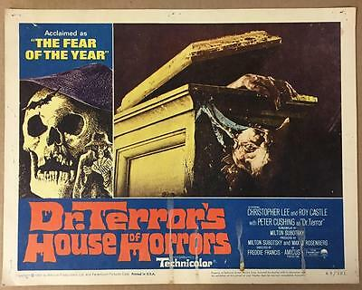 Ann Bell emerging from crypt Dr.Terror's House of Horrors '65 #4 lobby card 1142