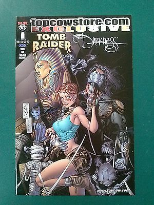 TOMB RAIDER & THE DARKNESS 2001 Topcowstore.com Exclusive - Image Comics VF