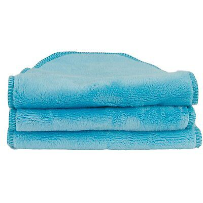 Blooming Bath - Petals Washcloths / Towels Turquoise - 3 Pack