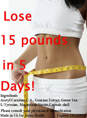 Lose 15lbs In 5 Days Strong Best Diet Pills Slimming Fast Weight Loss Tablets