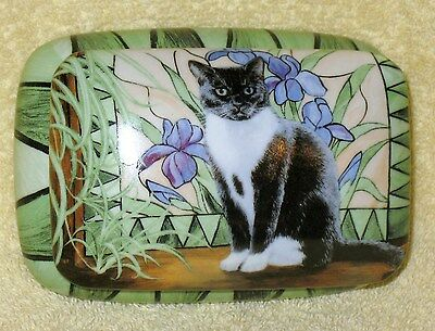 Persis Clayton Weirs - Wild Wings Cat Jewelry Box