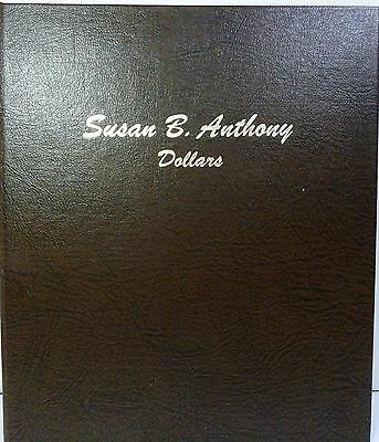 1979-1981 Complete Collection Susan SBA Dollar Set Album Dansco 7180 #10337S