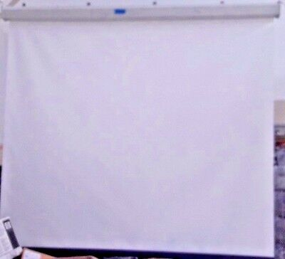 "Da-Lite Model C   pull down Screen 10"" x 72"" Matte White surface"