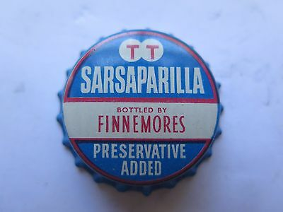 CROWN SEAL BOTTLE CAP SARSAPARILLA BOTTLED by T TRISTRAM Pty Ltd QUEENSLAND AUST