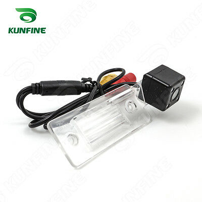 CCD Track Car Rear View Camera For Skoda Fabia 2012 Parking Camera Night Vision