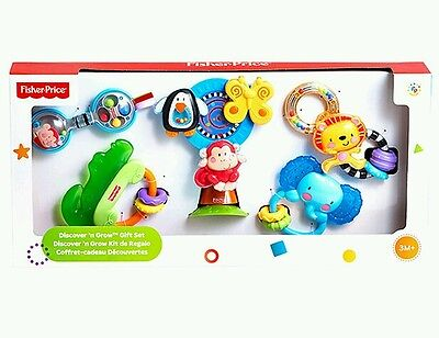 Fisher Price Discover 'n Grow Gift Set - Rattles - BNIB