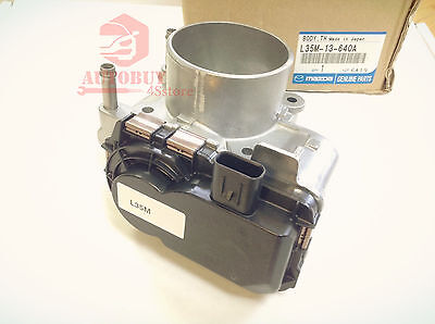 NewTurbo Throttle Body L35M-13-640A For Mazda3 Speed3 Speed6 CX-7 2.3L 2006-2013