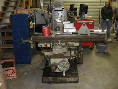 Cincinnati # 2U Horizontal  Milling Machine B4605-2