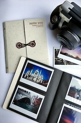 Instax Wide album (for 32 photos) Wide 200, 210, 300 Polaroid (light brown)