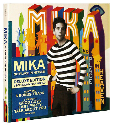 Mika - No Place In Heaven [Deluxe Edition Cont. 6 Bonus Track] [Digipack 2015]