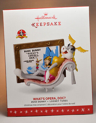 Hallmark: What's Opera, Doc? - Bugs Bunny Looney Tunes - 2016 Keepsake Ornament