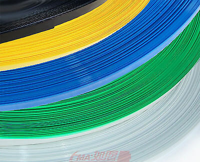 1M PVC Plastic Heat Shrink Tube F/W:134mm D:85mm Battery Cable Waterproof Film