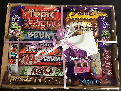 Chocolate Sweets Hamper Cadbury Galaxy Nestle   Birthday Gift Thank You Present