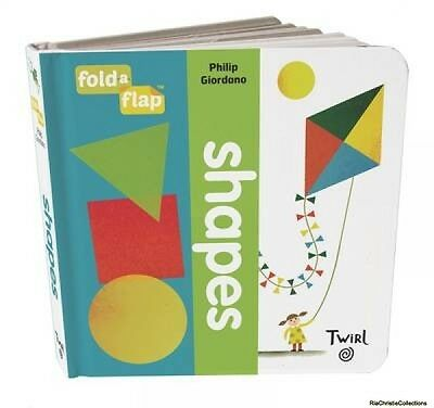 Fold-a-Flap Philip Giordano Board book New Book Free UK Delivery