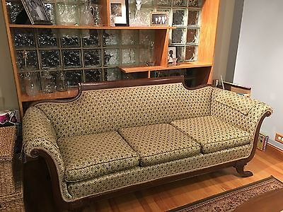 Beautiful, elegant one of a kind Duncan Phyfe Style Sofa