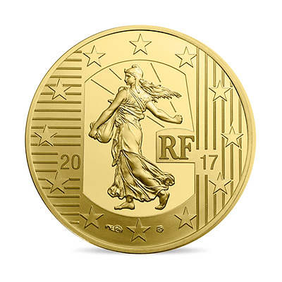 50 euro France 2017 or BE - Semeuse (Louis d'or)