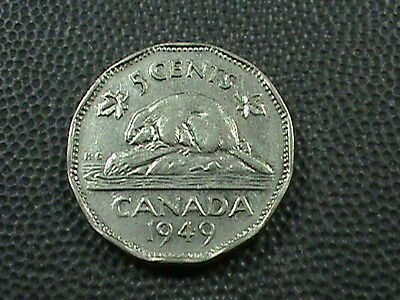 CANADA    5  Cents   1949