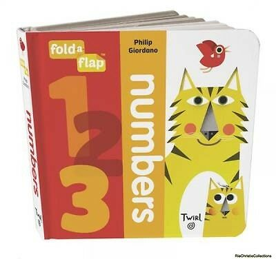 Fold-a-Flap 9782745981745 Philip Giordano Board book New Book Free UK Delivery
