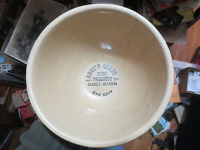 Sac City, Clarinda,carroll Iowa  Watt Pottery Advertising Lange`s Dairy Products
