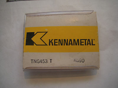 New 4Pcs Kennametal Tng 453T Grade K090 Ceramic Indexable Inserts