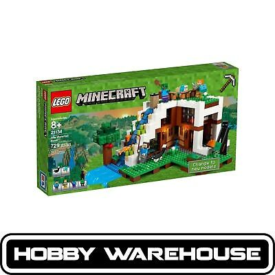 LEGO 21134 Minecraft The Waterfall Base (BRAND NEW SEALED)