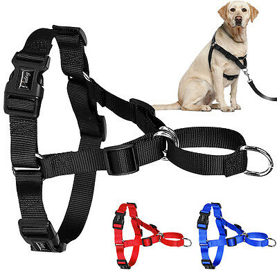 Soft No Pull Pet Dog Harness Vest Easy Control for Large Dogs Walking S M L XL