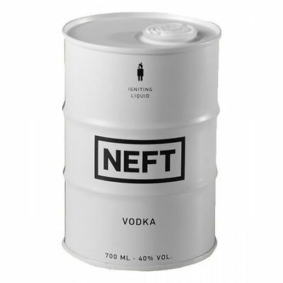 Neft Vodka White Barrel Russian Premium 700Ml 40%