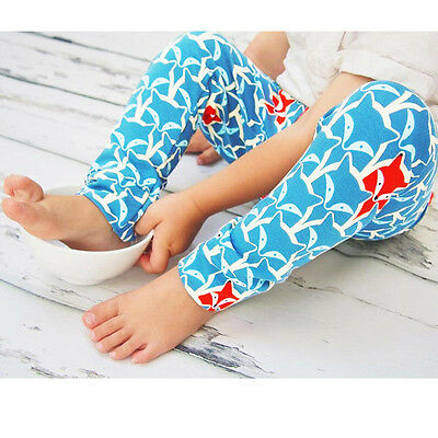 Toddler Baby Boys Girls Casual Harem Pants Leggings Trousers Soft Cotton Bottoms
