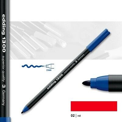 Edding 1300 rot Fasermaler Color Pen