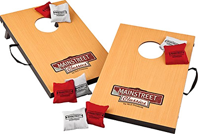 Cornhole Toss Game Bean Bag Tailgate Boards Outdoor Indoor Portable Toy Backyard