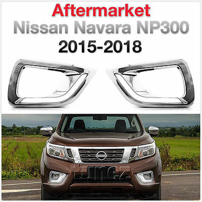 LED Daytime Running Light DRL Fog Lamp For Nissan Navara 2015-2019 NP300 D23 ET