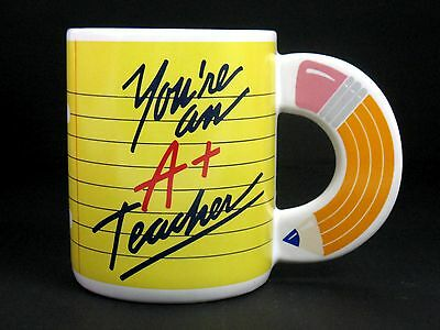 Avon Mug - You're An A+ Teacher - Pencil Handle