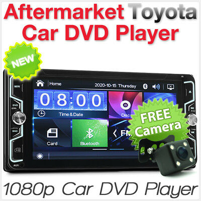 "7"" Toyota RAV4 MR2 GT 86 Previa Car DVD Player Head Unit Radio Stereo USB MP3 ET"
