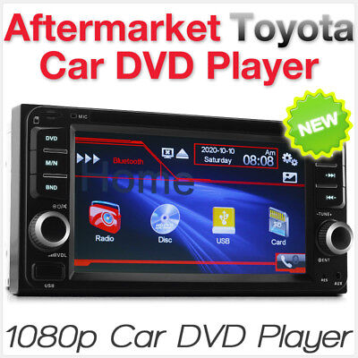Car DVD Player For Toyota Avensis Verso Hilux Land Cruiser Stereo Radio USB ET