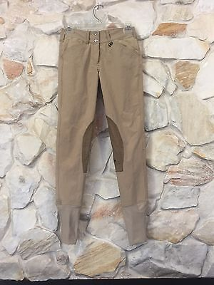 Equine Couture Coolmax Champion Front Zip Breeches Size 24