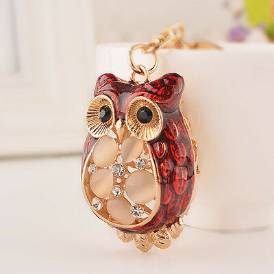 New Feng Shui Wise Owl Keychain Increase Intelligence Amulet Best Gifts for Kids