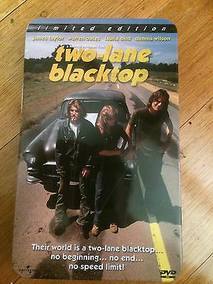 Rare DVD - Two Lane Black Top - (Limited to 15,000)