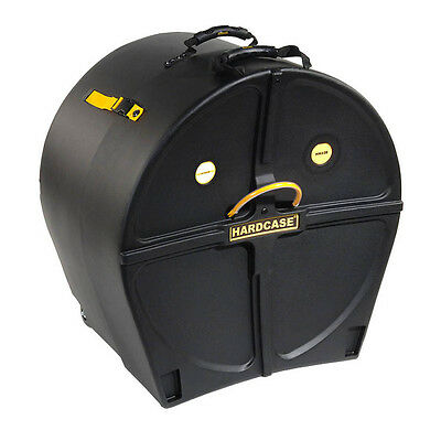 """Hardcase 22"""" Bass Drum Case with Wheels & Pull Handle"""
