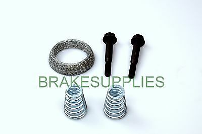 Citroen Peugeot Exhaust Fitting Kit Gasket Bolts & Springs* Fast Dispatch *